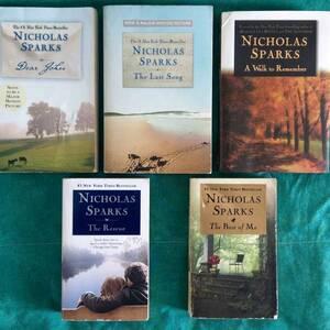 Tunis-loisirs_et_jeux-livres-nicholas-sparks-en-anglais