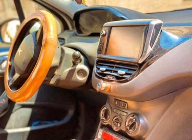 Carte voiture Peugeot 208