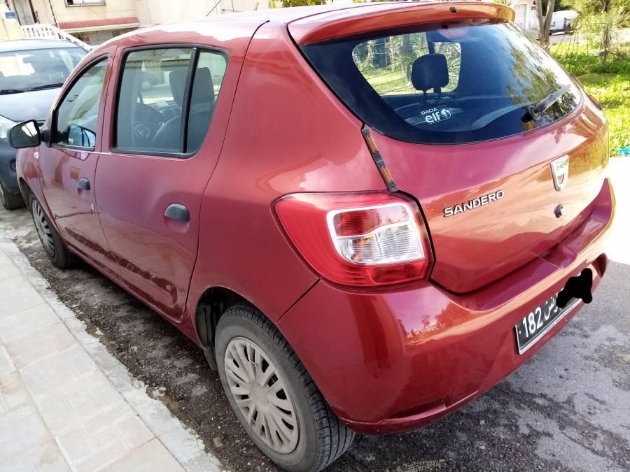 Carte voiture Dacia Sandero