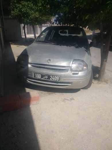 Carte voiture Renault Clio