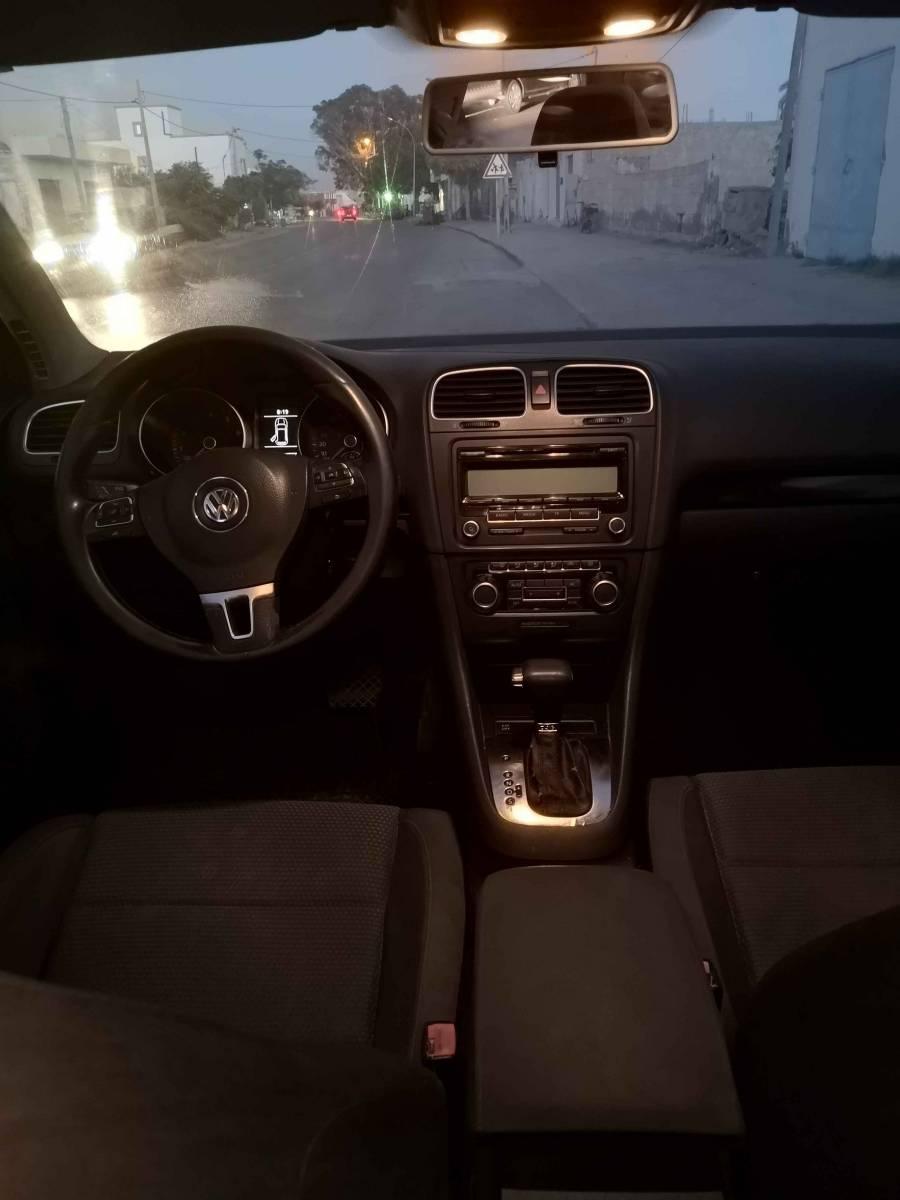 Carte voiture Volkswagen Golf