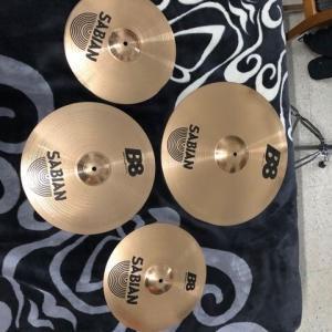 Sfax-loisirs_et_jeux-Sabian-b8-set-cymbals