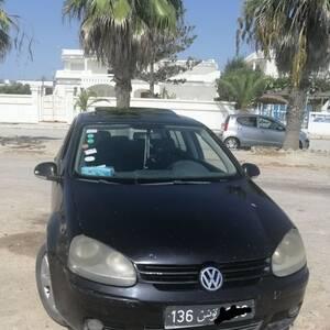 Nabeul-voitures-Volkswagen-(Golf)-2006-Manuelle-Diesel