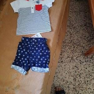 Tunis-bebe_et_enfant-vend-deux-ensemble-naissance-pour-garçon-50-dinars